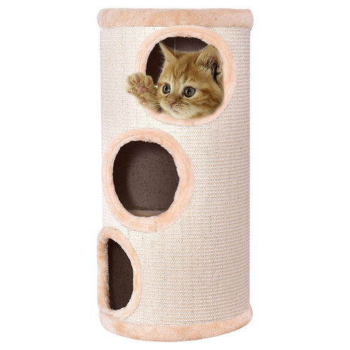 """14"""" x 27.5"""" Cat Tower with 3 Holes"""