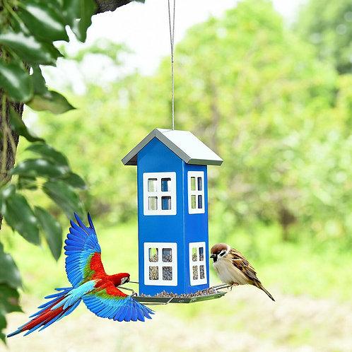Outdoor Garden Yard Wild Bird Feeder Weatherproof House