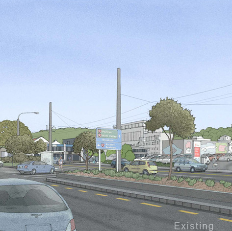 Victoria Street, Wellington - Existing