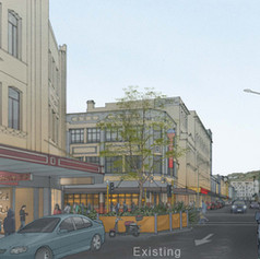 Cuba Street, Wellington - Existing Condition