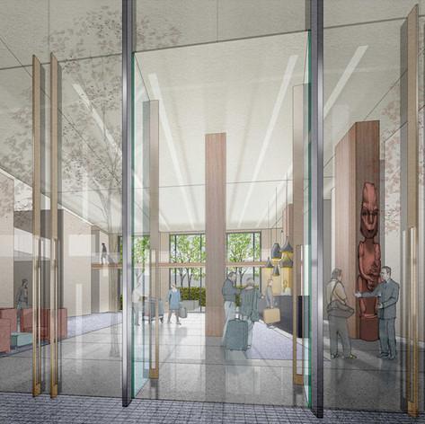 Christchurch Hotel Lobby