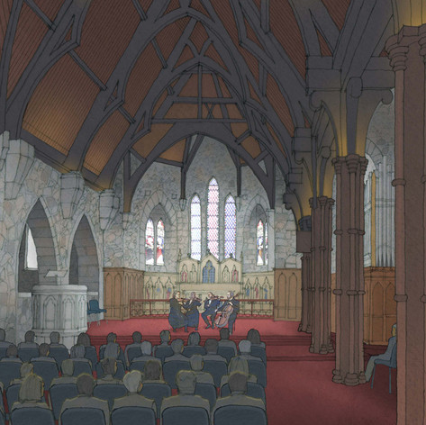 Taranaki Cathedral - Goddard + Associates Ltd