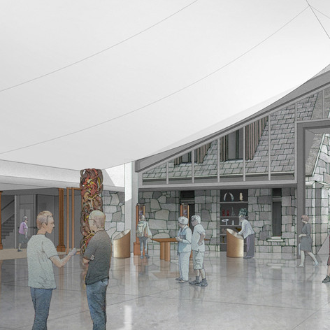 Taranaki Cathedral Atrium - Goddard + Associates Ltd