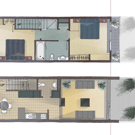 Raumati Floor Plan - Stantiall's Studio Ltd