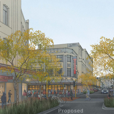Cuba Street, Wellington - Proposed Condition