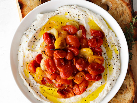 Whipped Ricotta with Roasted Cherry Tomatoes