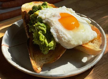 Avocado Toast w/ Poached Egg