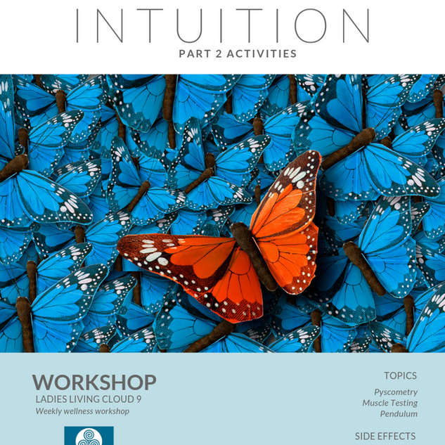 Week 7: Intuition Part 2