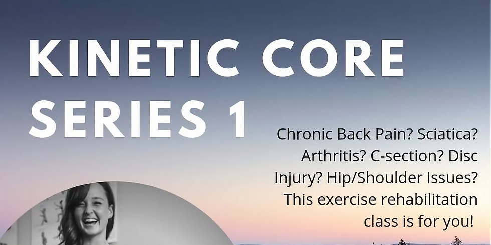 Kinetic Core Series Level 1 - Every Tuesday From Feb 5th