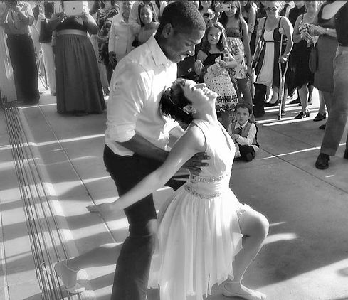 Esmerelda and Kendric's First Dance choreographed by Kate Schmad