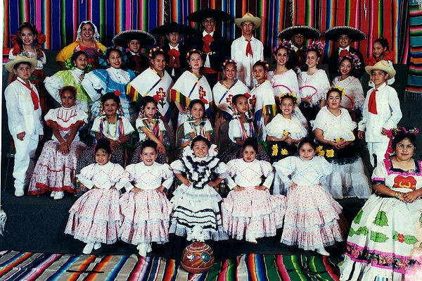Kate's Folklorico group