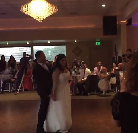 Jonothan and Nadine's First Dance choreographed by Kate Schmad