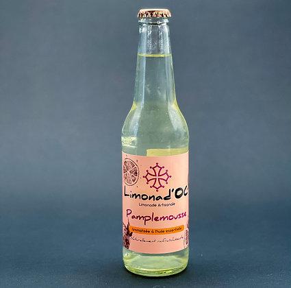 Limonade Pamplemousse 33cl - Limonad'Oc