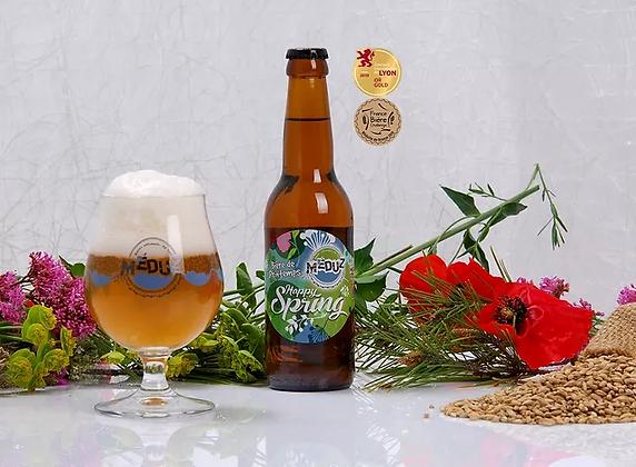Bière Meduz- Happy Spring (fruitée, de saison) 33cl