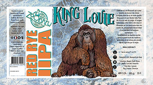 Bière ZooBrew - King Louie Double IPA 33cl