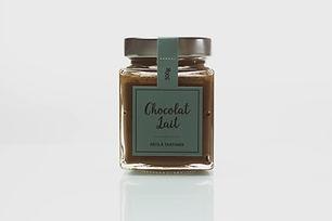 Pâte à tartiner artisanale au chocolat au lait - La nougaterie Des Fumades