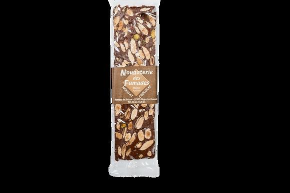 Nougaterie Des Fumades - Nougat chocolat-amande 100gr