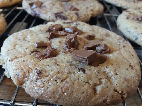 Biscuiterie de Mumu -  Maxi cookie au deux chocolats 90g