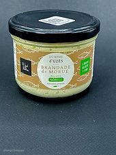 Brandade bio naturelle 200g - Les saveurs d'Uzès