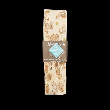 Nougaterie Des Fumades - Nougat blanc a la noix de coco 100gr