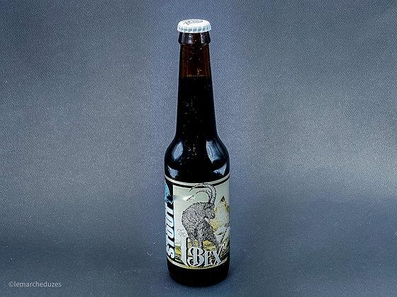 Bière Ibex Milk Stout 33cl - Brasserie ZooBrew