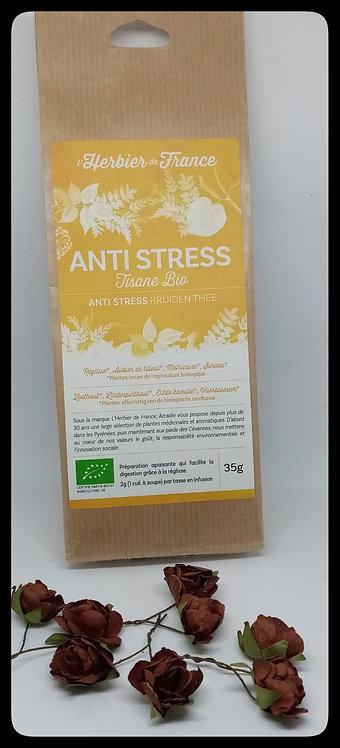 La clé des maux - Tisane Anti Stress 35g