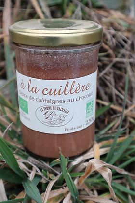 Délice de châtaignes au chocolat 230g - Ferme de Valmalle