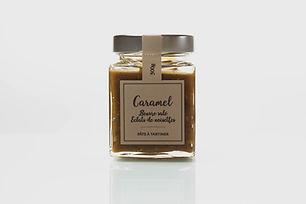 Pâte à tartiner caramel beurre salé et éclats noisettes - Nougaterie Des Fumades