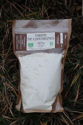 Farine de châtaignes 500g - Ferme de Valmalle