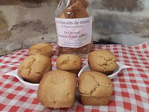 Le cévenol, châtaigne et Miel 150g - Les Biscuits de Mumu