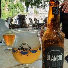 Bière Blanche & BIO 33cl - Brasserie Méduz