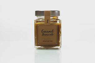 Pâte à tartiner artisanale caramel beurre salé - La nougaterie des Fumades