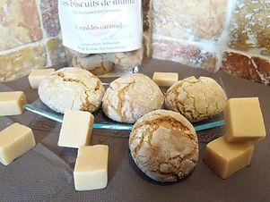 Crinkles au caramel - Les Biscuits de Mumu