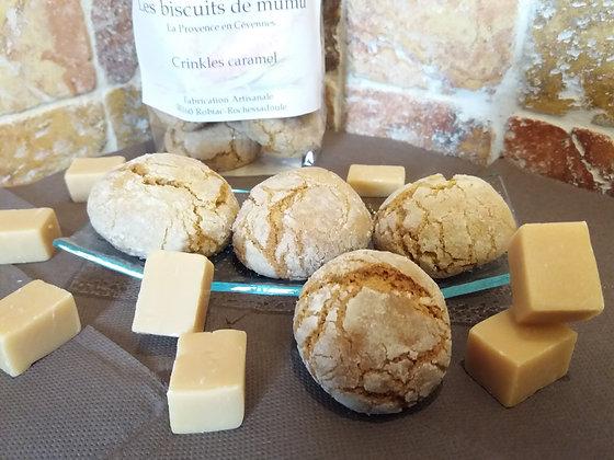 Biscuiterie de Mumu -  Crinkles au caramel 150g