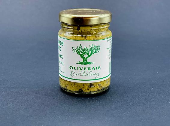 Tapenade verte 90g - Oliveraie Barthélémy