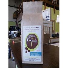 Arabica décaféiné sans solvants 250g - L'atelier du café