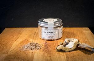 Fleur de sel aux cèpes - Maison de Garniac