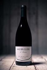 L'Arbouse vin rouge 75cl AOP Pic St Loup - Mas Bruguière