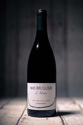 L'arbouse vin rouge 75cl AOP Pic St Loup - Mas Bruguiere