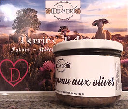 Terrine d'agneau aux olives - Élevage Dombry
