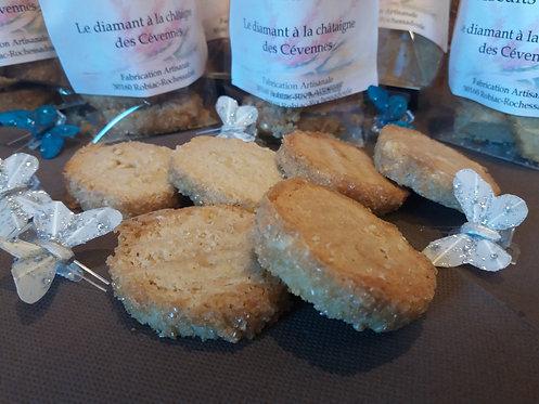 Biscuiterie de Mumu - Diamant à la châtaigne des Cévennes 150g