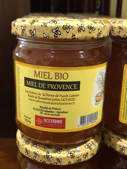 Les Ruchers de la Ferme de Puech Cabrier - Miel de Provence 250g