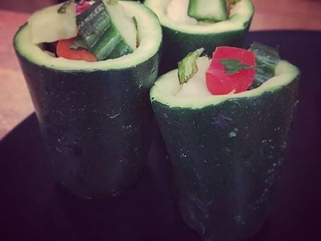 Farcis de courgettes aux légumes d'été