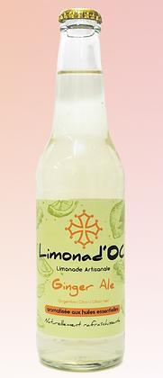 Limonad'Oc -Ginger Ale 33cl