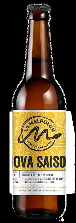 Bière La Malpolon - Nova saison (Blonde) 33cl