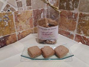 Canistrelli Corse à la châtaigne 150g - Les Biscuits de Mumu