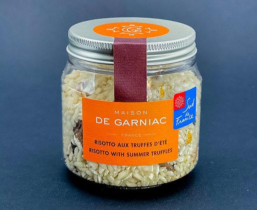 Risotto aux truffes d'été - Maison Garniac