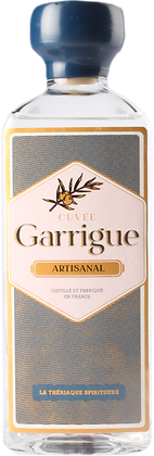 Garrigue Gin artisanal 50cl - La Thériaque Spiritueux