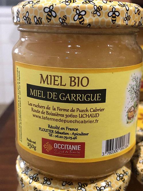 Les Ruchers de la Ferme de Puech Cabrier - Miel de Garrigue 250g