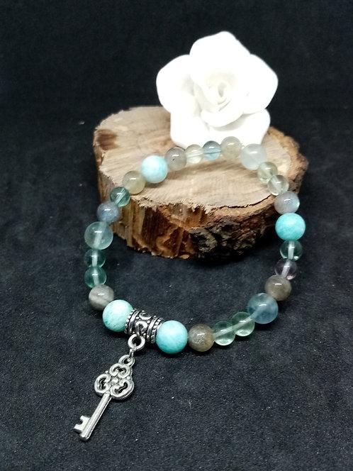 La clé des maux - Bracelet Vierge 1 18cm